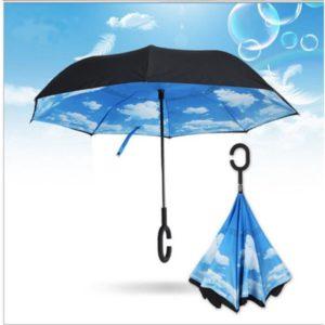 Parapluie qui résiste au vent